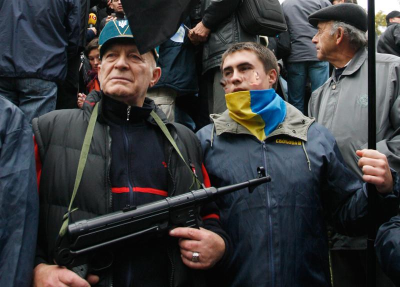 ForPost - Новости : Французская делегация неожиданно обнаружила неонацизм на Украине