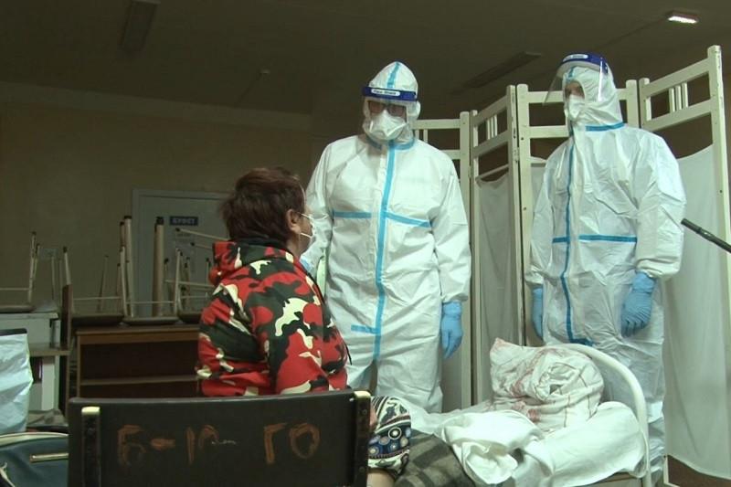 ForPost - Новости : Пациентку ковидного госпиталя избили за жалобы на плохие условия