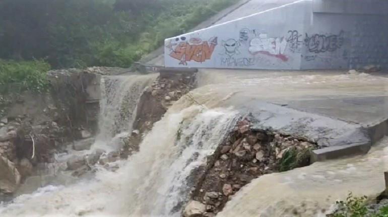 ForPost - Новости : Стихия испытывала Туристский пруд под Севастополем