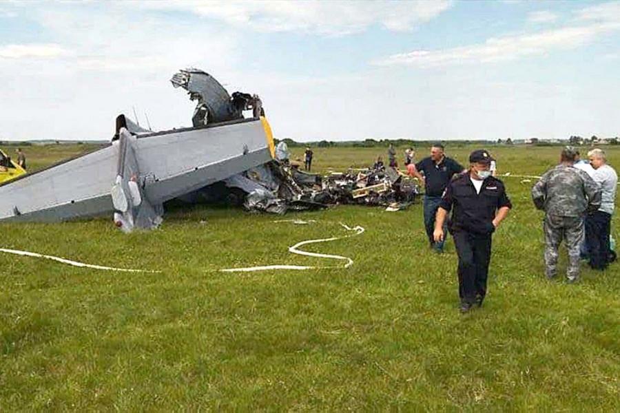 ForPost - Новости : Число погибших при крушении самолета в Кузбассе выросло до девяти человек