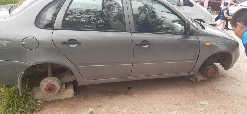 ForPost - Новости : В Севастополе задержан серийный похититель колёс