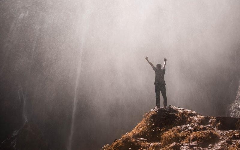 ForPost - Новости : На горе — символе Крыма «пробудился» водопад
