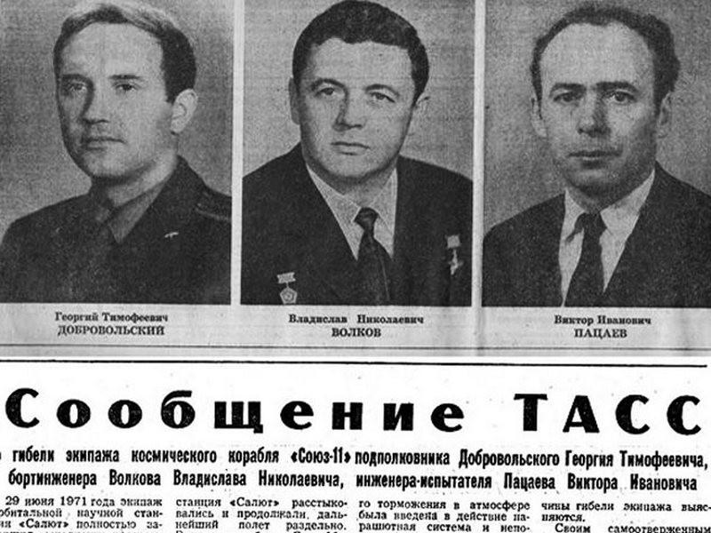 ForPost - Новости : «Завтра встретимся»: рассекречены последние переговоры погибшего экипажа «Союз-11»
