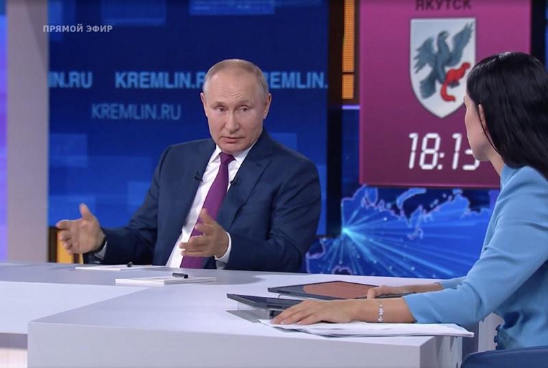 ForPost - Новости : Путин напомнил британским провокаторам о выборе крымчан