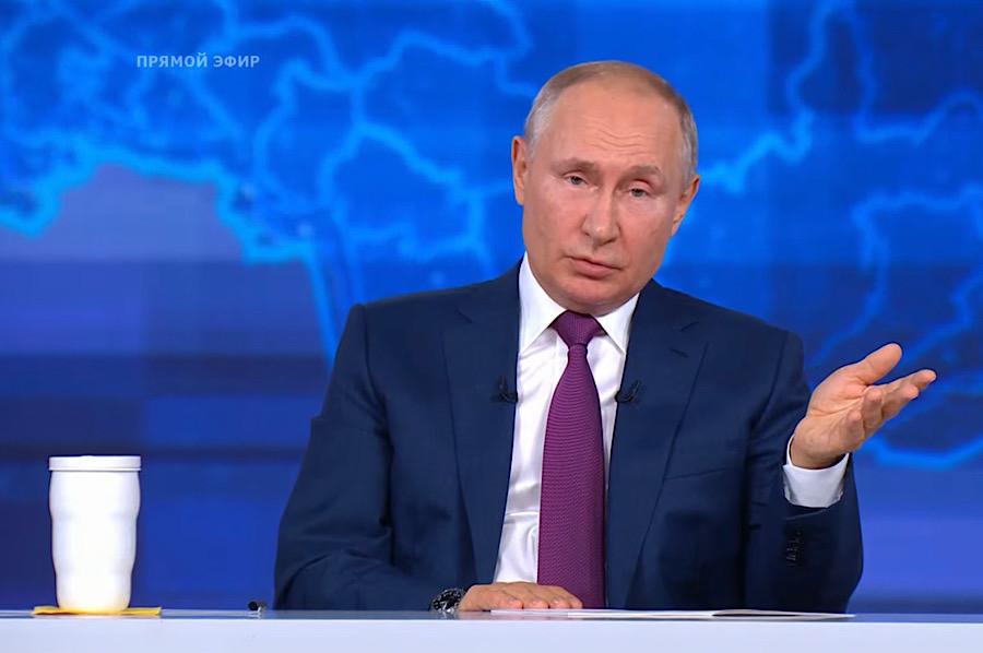 ForPost - Новости : Владимир Путин: британский эсминец у берегов Севастополя — комплексная британско-американская провокация