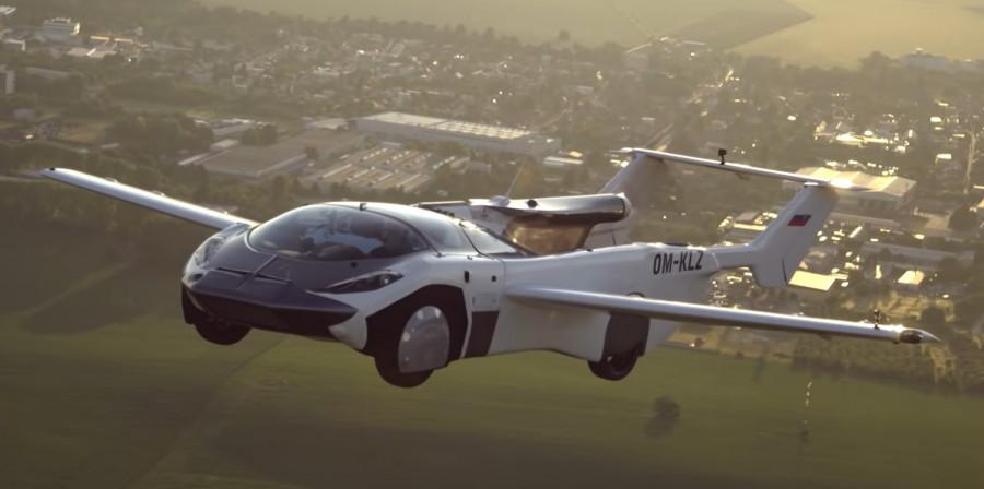 ForPost - Новости : Первый в мире летающий автомобиль сняли на видео