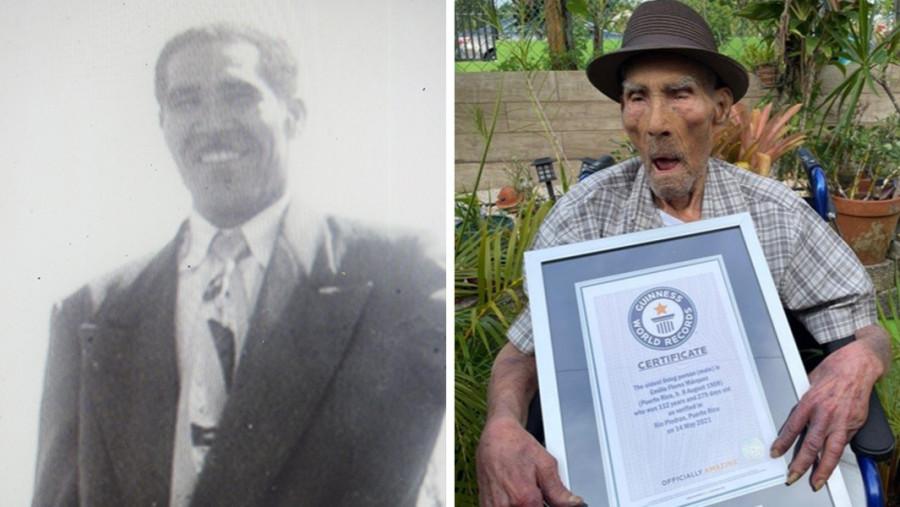 ForPost - Новости : Самый старый мужчина в мире раскрыл секрет своего долголетия