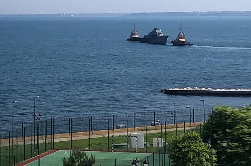 ForPost - Новости : Кочующая по бухтам Севастополя разделка кораблей отправилась в Инкерман