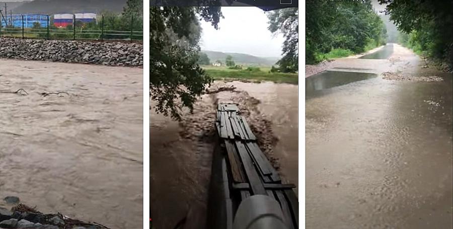 ForPost - Новости : Мусорная плотина у севастопольского водозабора привела к разливу Бельбека
