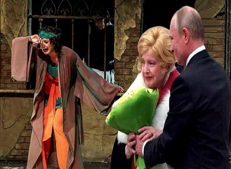 ForPost - Новости : Доронина против Бузовой: что заставило великую актрису написать письмо Путину