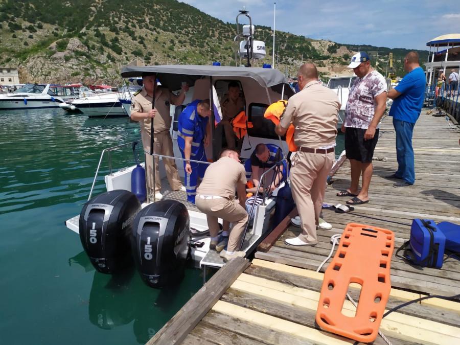 ForPost - Новости : Счастливый случай помог туристу не утонуть после падения со скал