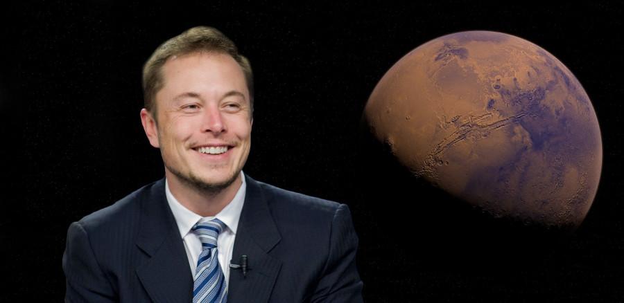 ForPost - Новости : Илон Маск рассказал, когда он построит первый город на Марсе