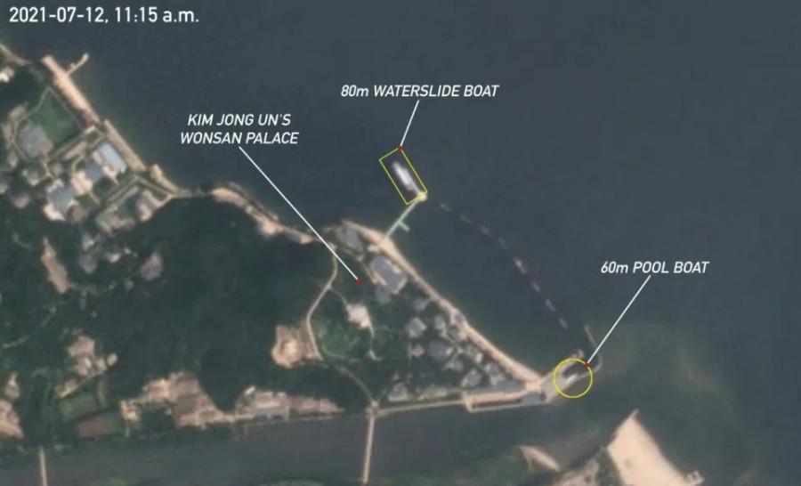 ForPost - Новости : Рассказали о гигантской яхте, на которой Ким Чен Ын развлекается, пока страна голодает