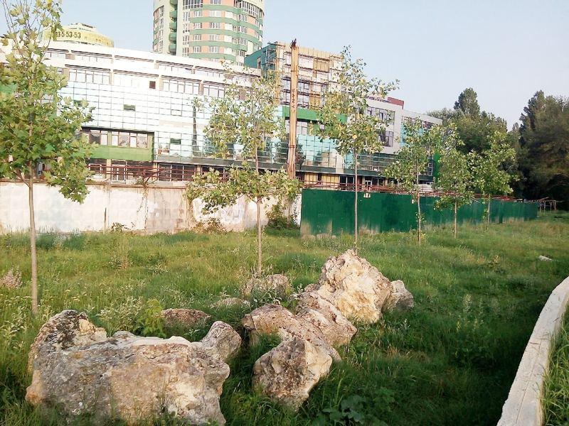 ForPost - Новости : Строители захватили часть главного парка в столице Крыма незаконно