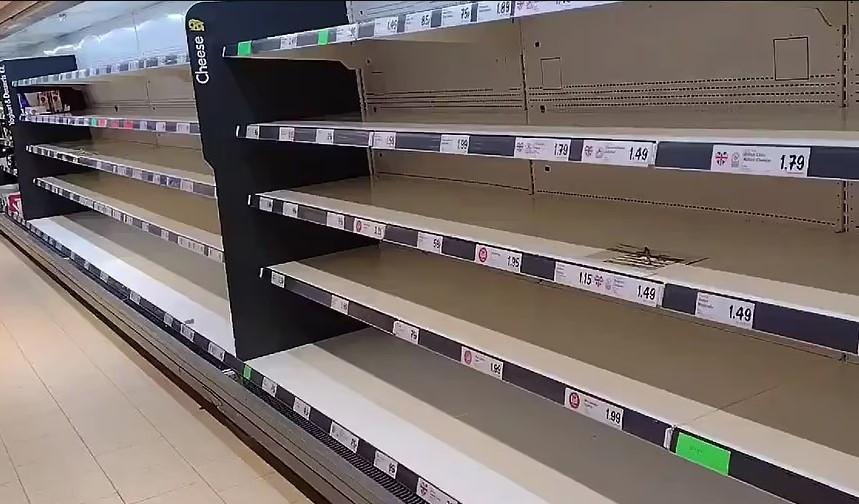ForPost - Новости : Из-за нового приложения британцы внезапно столкнулись с нехваткой еды
