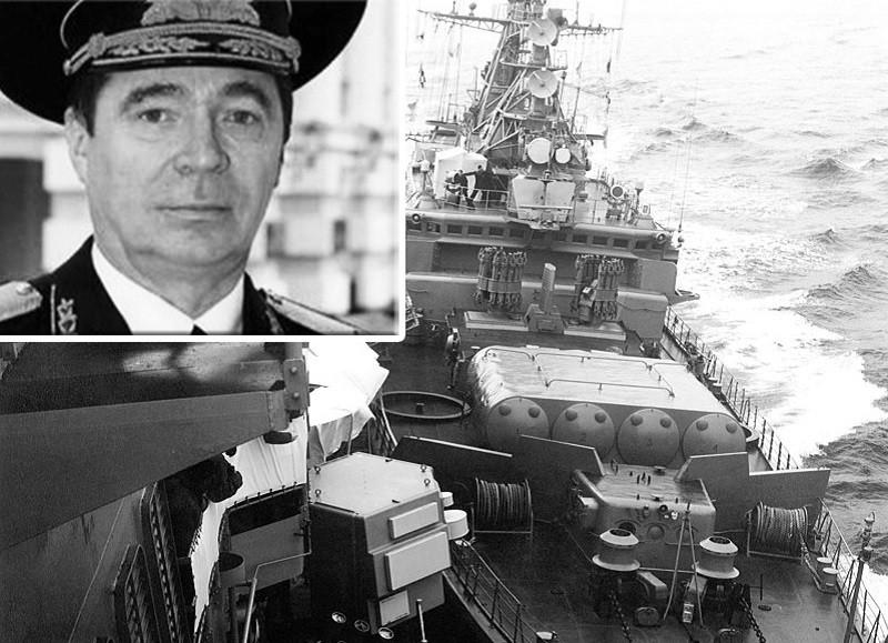 ForPost - Новости : Умер таранивший крейсер США у берегов Севастополя контр-адмирал Богдашин