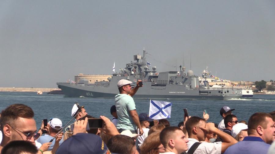 ForPost - Новости : Как Севастополь отметил День Военно-Морского Флота России