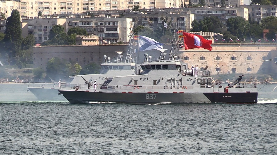 ForPost - Новости : Полная версия парада в честь Дня Военно-Морского Флота в Севастополе