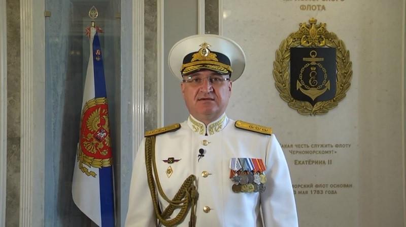 ForPost - Новости : Поздравление Командующего Черноморским флотом с Днём Военно-Морского Флота России