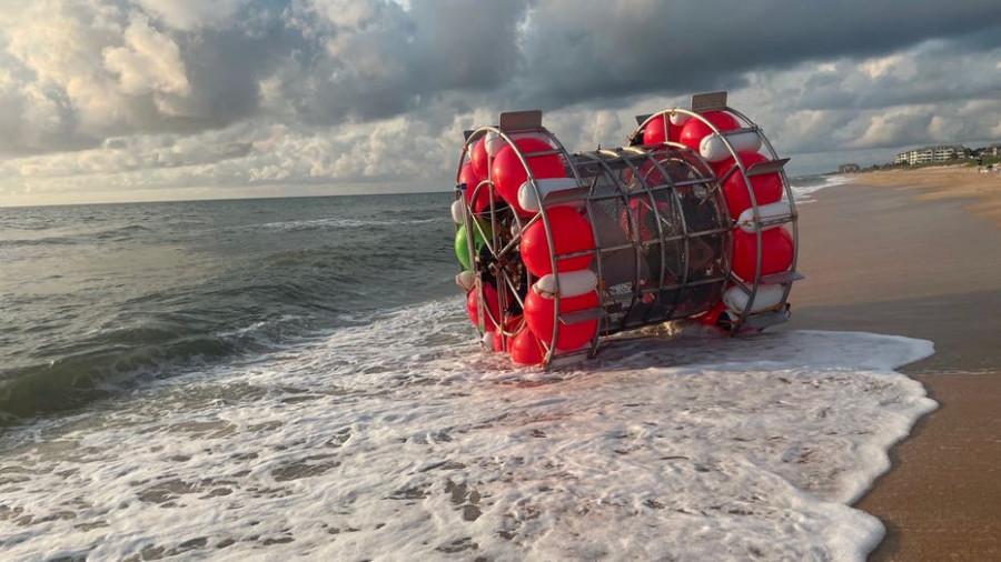 ForPost - Новости : Мужчина пытался дойти пешком по морю от Флориды до Бермуд