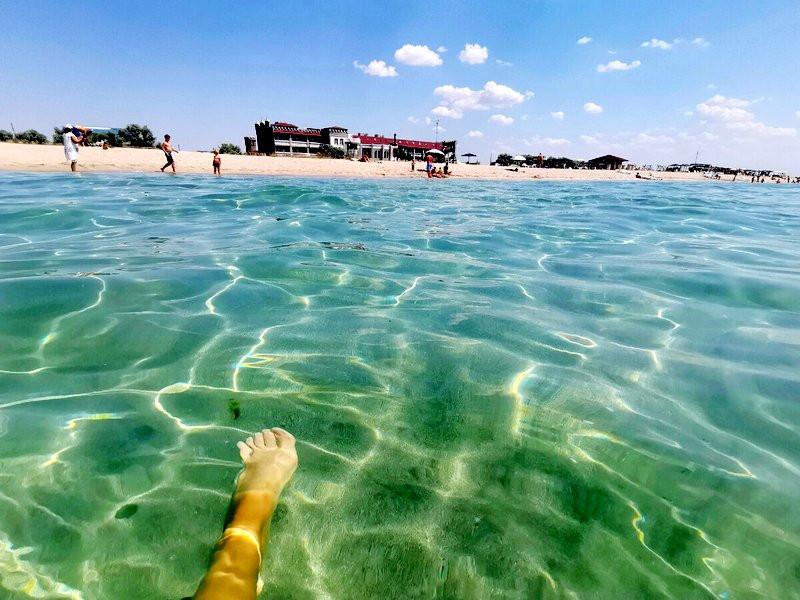 ForPost - Новости : Блогер назвал крымские Мальдивы чудом