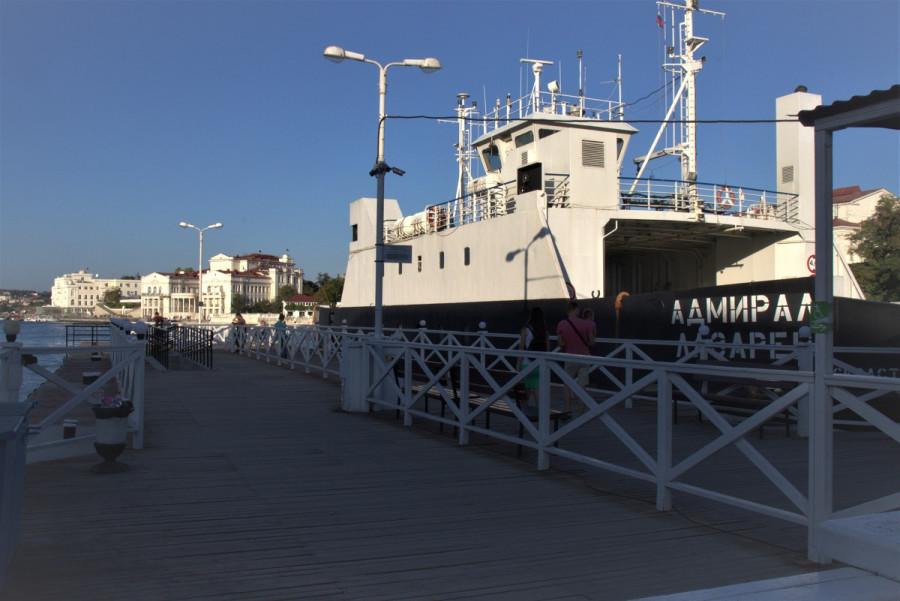 ForPost - Новости : Паромную переправу планируют убрать из Артиллерийской бухты Севастополя