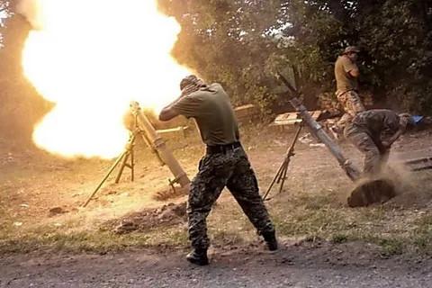 ForPost - Новости : Во время учений украинских военных в Донбассе взорвался миномет