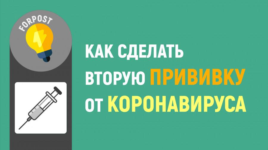 ForPost - Новости : Как сделать вторую прививку от коронавируса