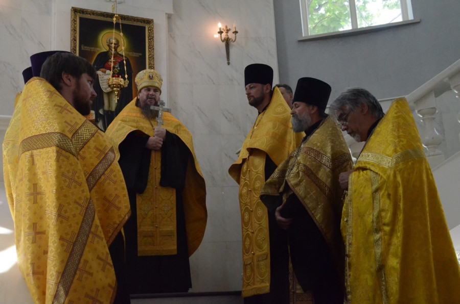 ForPost - Новости : В Севастополе прошли мероприятия к 20-летию канонизации адмирала Федора Ушакова