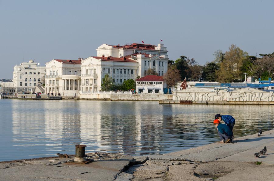 ForPost - Новости : В Севастополе обозначили начало грандиозной реконструкции Артиллерийской бухты