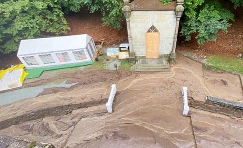 ForPost - Новости : Монастырь в горах Крыма пострадал от схода селя