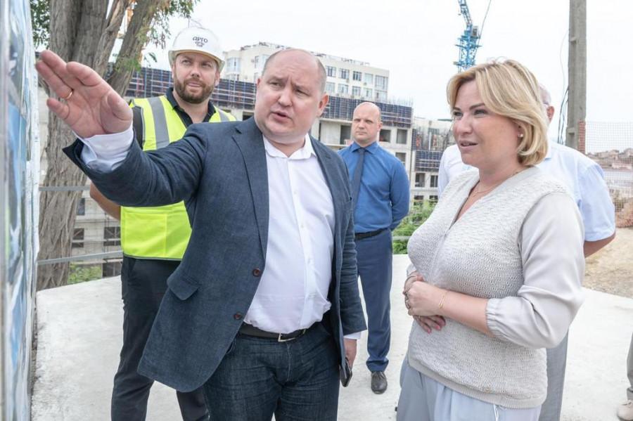 ForPost - Новости : Министру культуры показали будущие севастопольские кластеры на Хрустальном и у Херсонеса