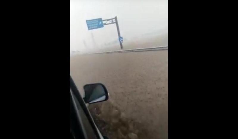 ForPost - Новости : В Крыму трасса «Таврида» вновь ушла под воду
