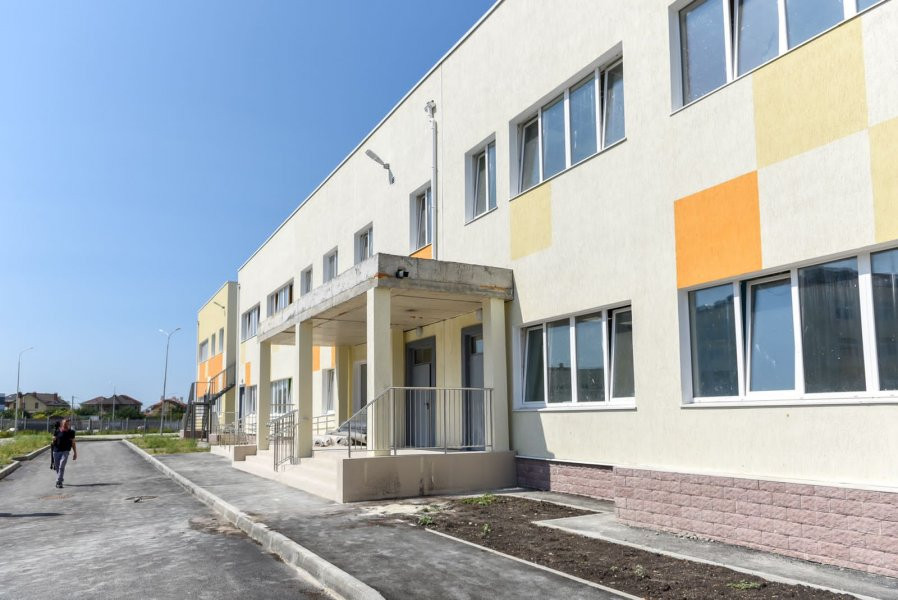 ForPost - Новости : Детский сад на улице Шевченко в Севастополе готов на 95%