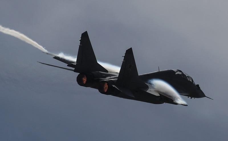 ForPost - Новости : Истребитель МиГ-29 разбился во время учебного полёта