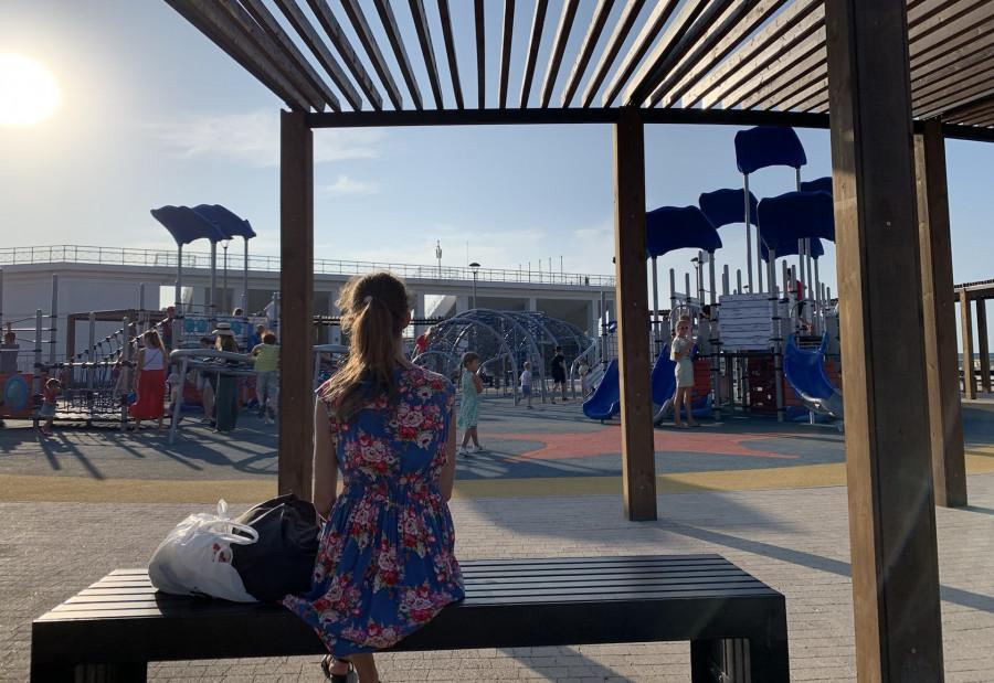 ForPost - Новости : Севастопольцам открыли продолжение набережной в парке Победы