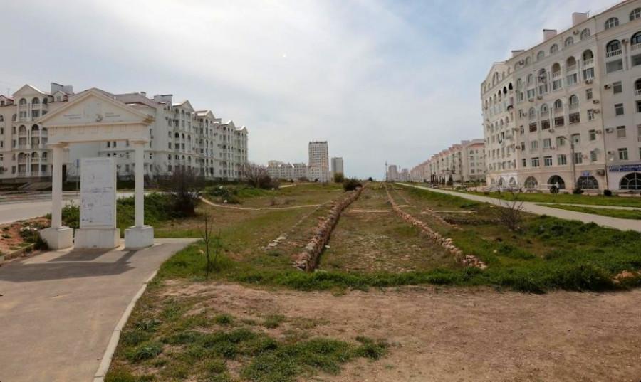 ForPost - Новости : Античную дорогу Херсонеса встроят в инфраструктуру Севастополя