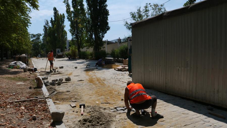 ForPost - Новости : В центре Севастополя сузят дорогу