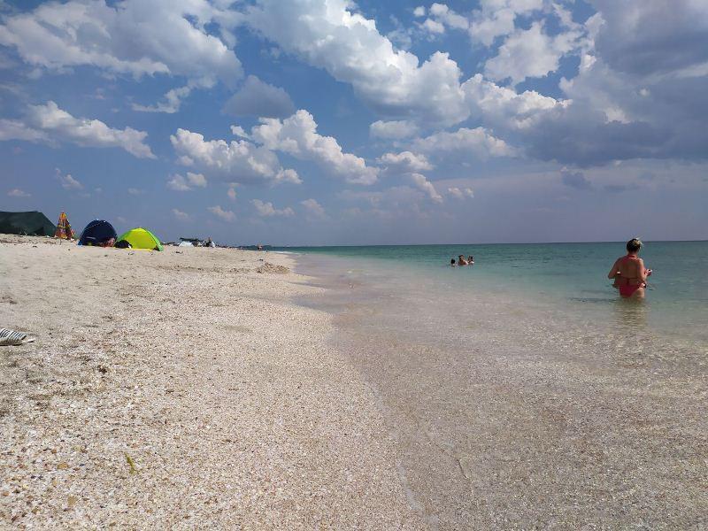 ForPost - Новости : Туристка рассказала правду о крымских Мальдивах