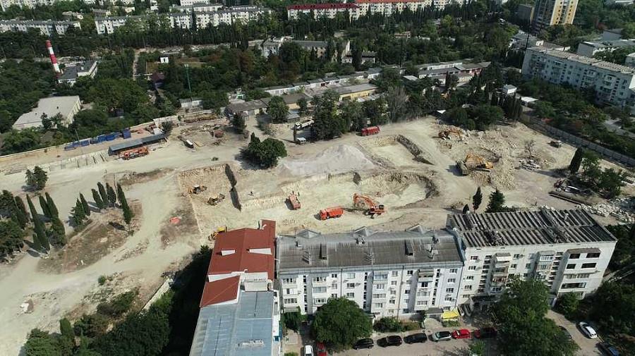 ForPost - Новости : Никогда не было, и вот опять: «новый Херсонес» строят без разрешений
