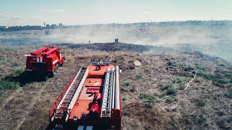ForPost - Новости : Очередной пожар в Севастополе уничтожил растительность на гектаре земли