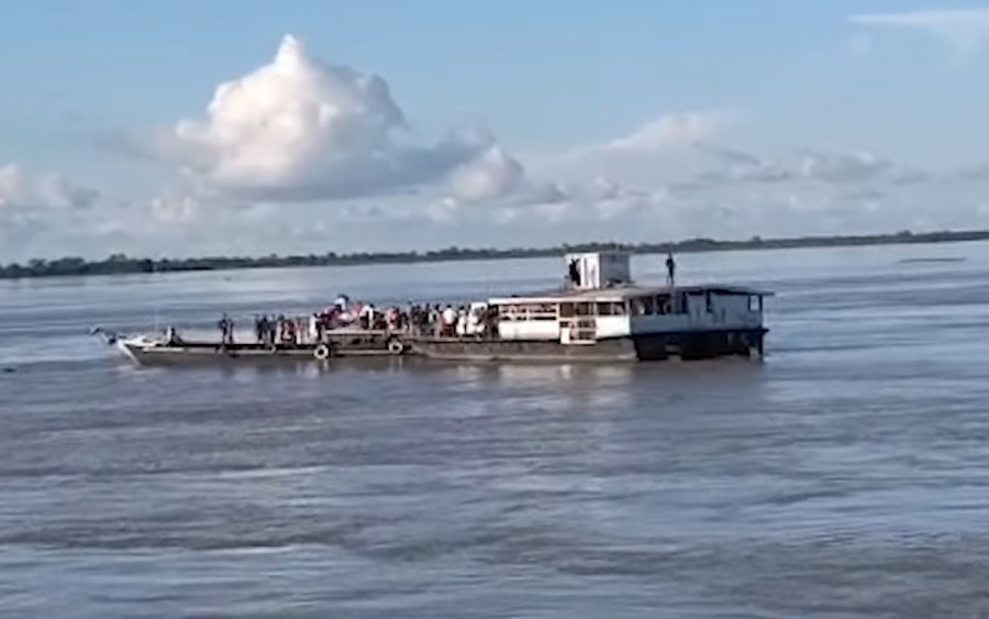 ForPost - Новости : На реке столкнулись два судна с 240 пассажирами, есть жертвы. Видео