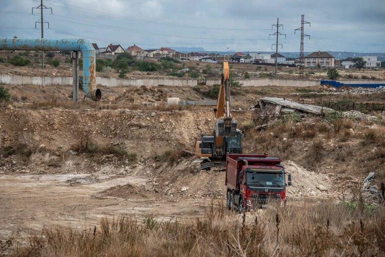 ForPost - Новости : В Севастополе очистят земельный участок у КОС «Южные»