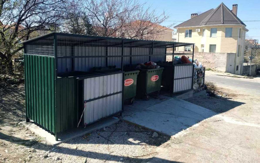 ForPost - Новости : В Ленинском районе Севастополя появятся новые контейнерные площадки