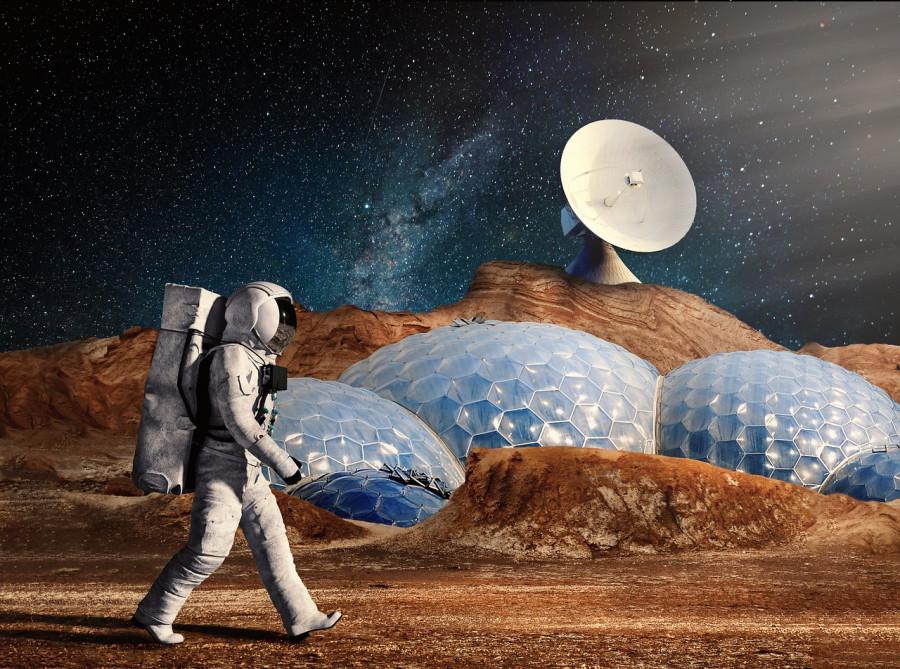ForPost - Новости : Марсианский «бетон» собираются делать на крови и слезах космонавтов