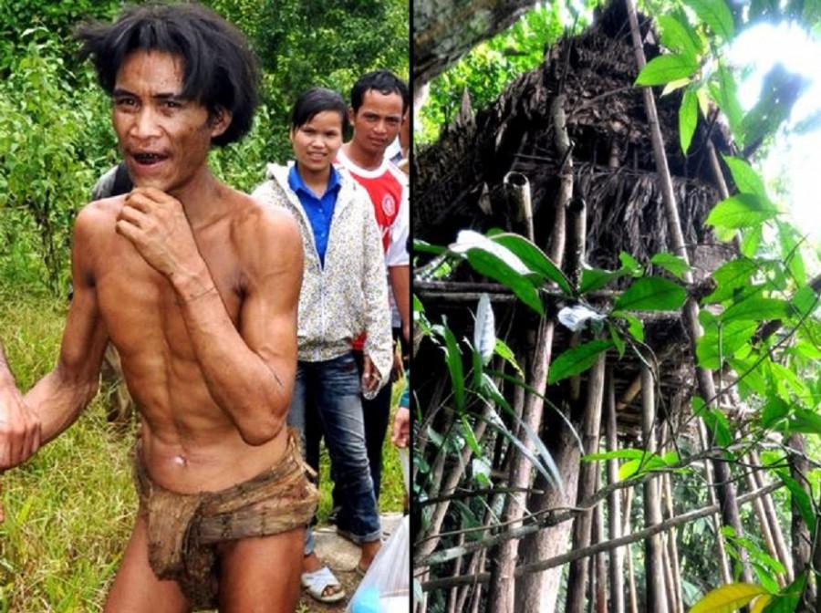 ForPost - Новости : Вьетнамец, выращенный в джунглях, так и не понял разницы между мужчиной и женщиной