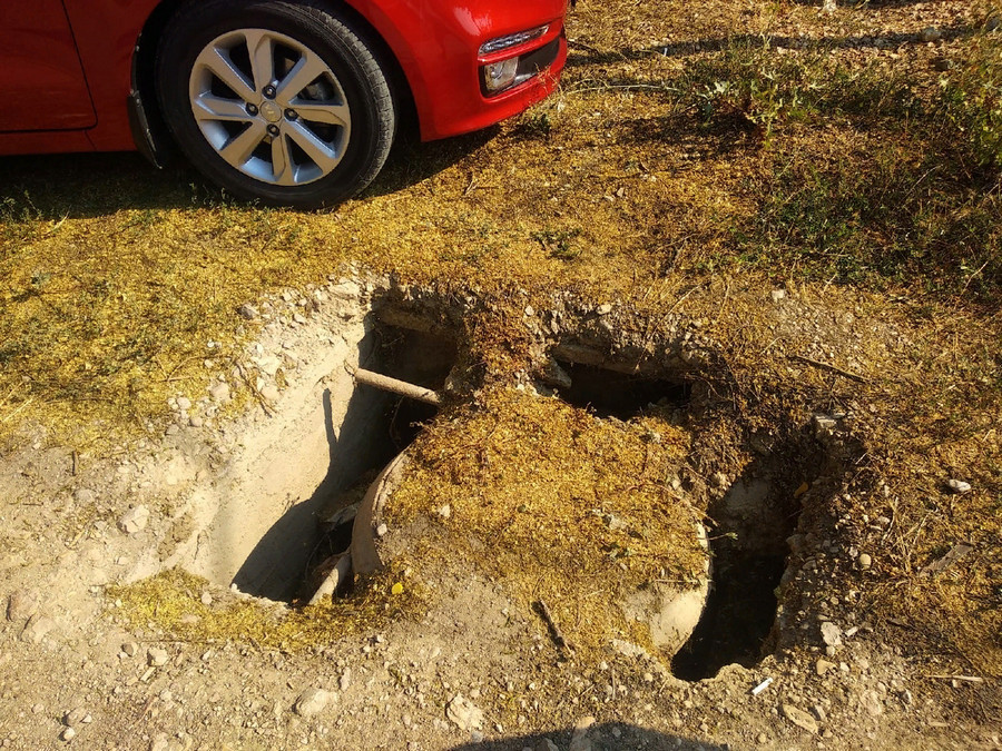 ForPost - Новости : Севастопольцам расставили «ловушки» с арматурой