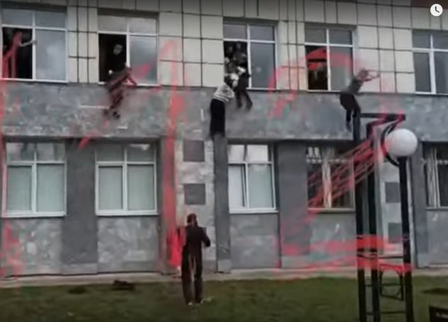 ForPost - Новости : Устроивший стрельбу в Пермском госуниверситете задержан