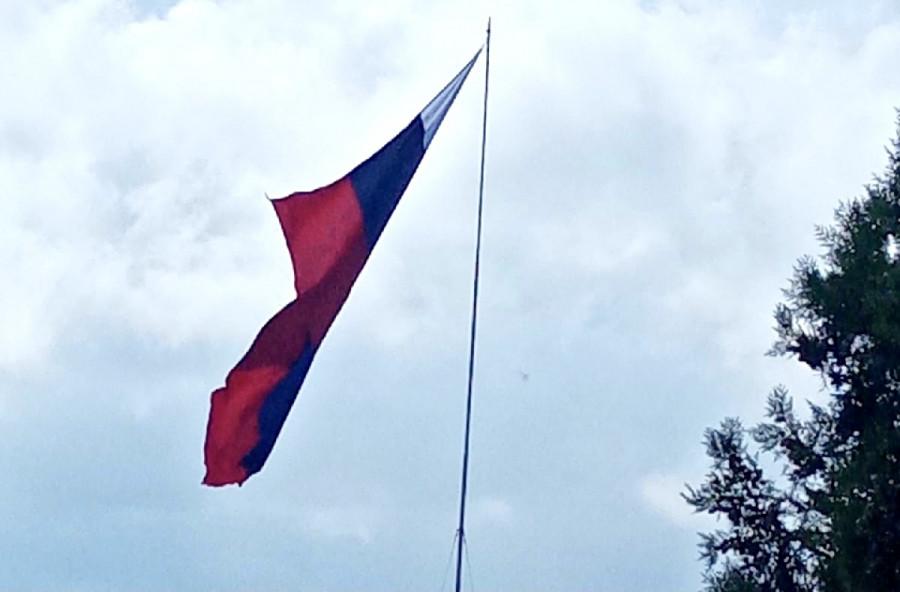 ForPost - Новости : Флаг России в Севастополе висит на волоске