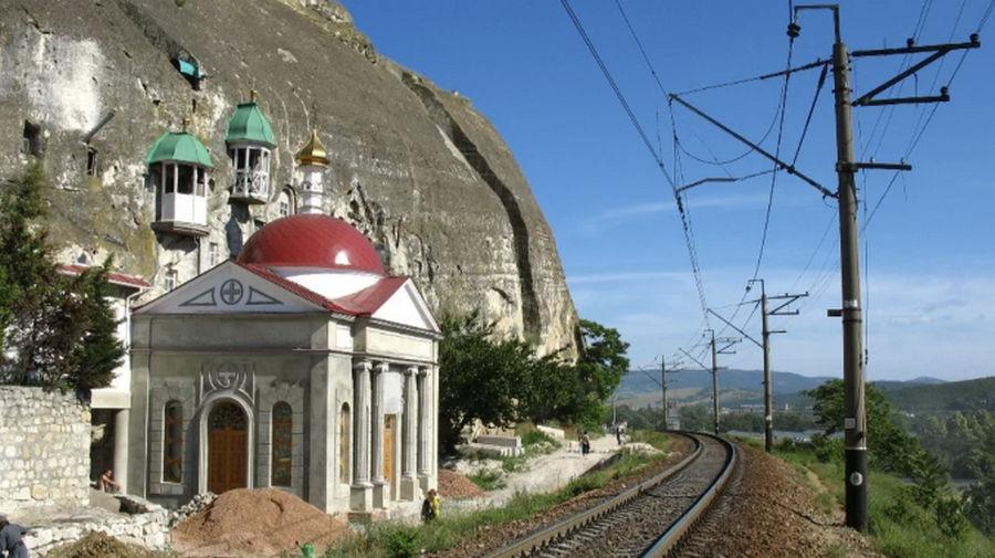 ForPost - Новости : Проект железной дороги вокруг монастыря в Инкермане подорожал в разы